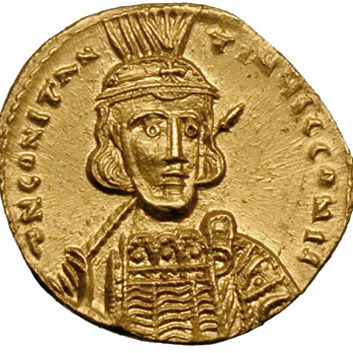 Smart Gold Byzantine Solidus Of Heraclius Showing Three Emperors Online Discount Coins & Paper Money