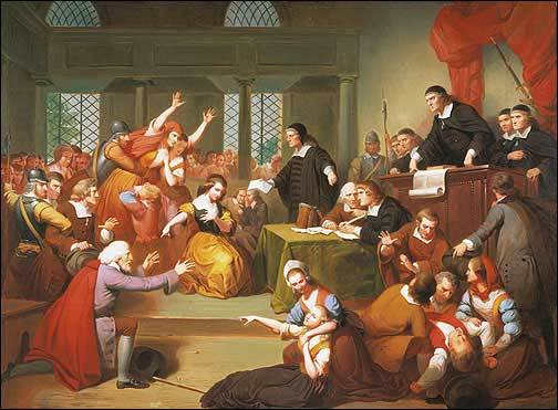 Salem witch trials and the bill