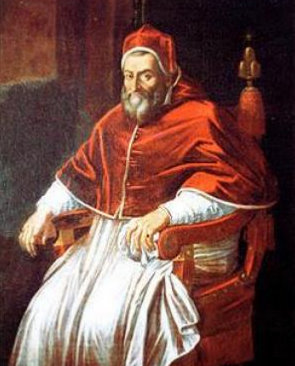 Image result for pope gregoryXIV