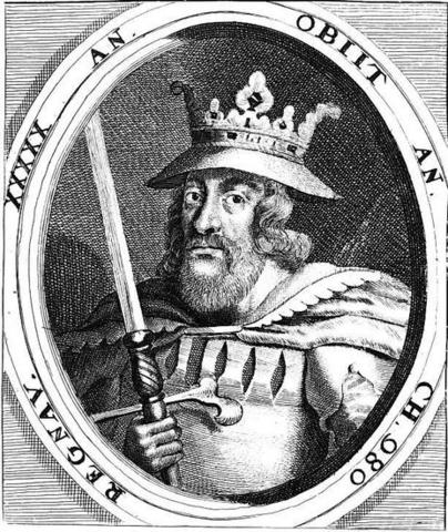 people Harald Blue Tooth king of Denmark