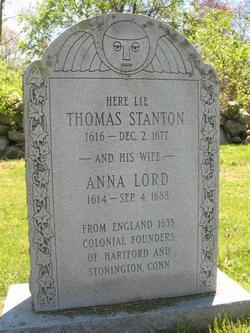Hon Thomas Stanton 1616 1677 Genealogy