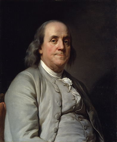 Image result for benjamin franklin in 1758